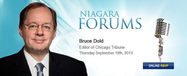 Bruce Dold, Editor of Chicago Tribune