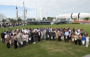 Naturalization Ceremony in 2010 at Kennedy Space Center